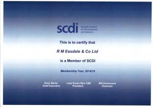 Member of SCDI