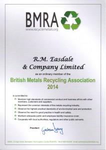 Member of BMRA
